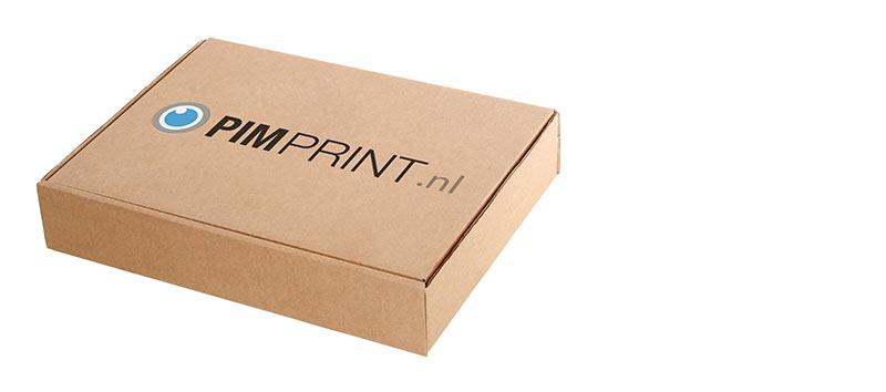 karton bedrukken met logo