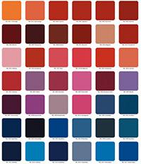 RAL kleuren met Pantone kleuren vergelijken