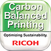 ricoh carbon balanced printing