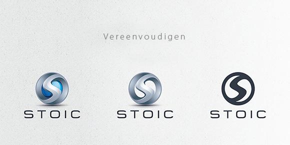 Logo vereenvoudigen voor drukwerk ontwerp