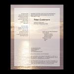 Rouwkaart-Diversen-Model-ondergaande_zon