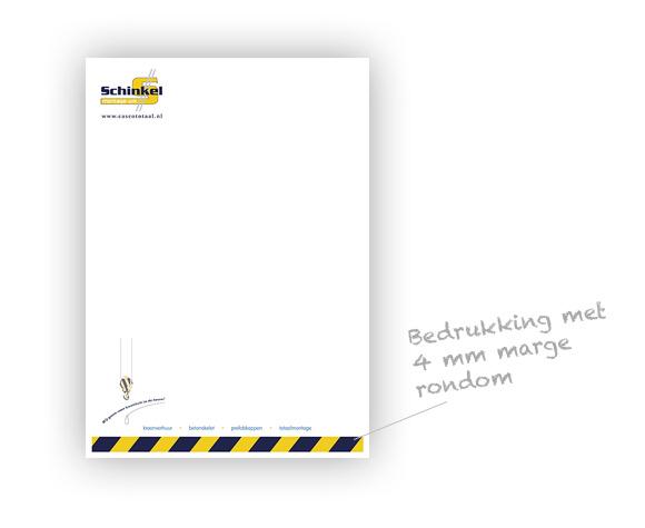 Envelop ontwerp met witruimte rondom