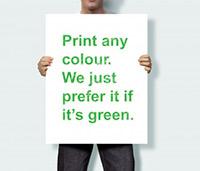 Duurzaam drukwerk