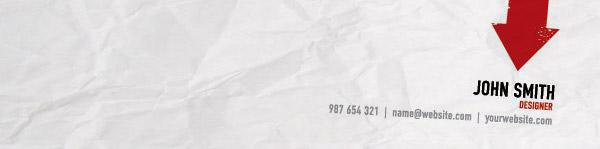 Kraftpapier Crumpled Paper